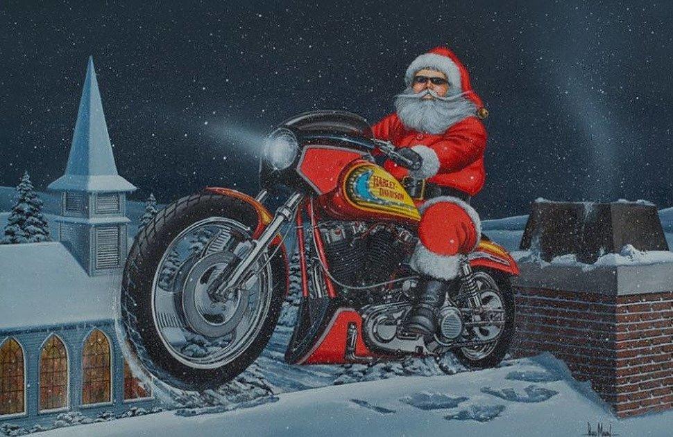 Мото открытка с новым годом, картинок