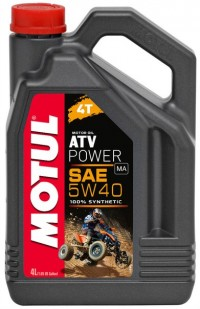MOTUL ATV POWER  QUAD 4T 10w40, 4л. 100% синтетика