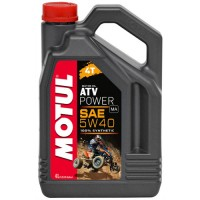 MOTUL ATV POWER 4T 5w40 4л. 100% синт. для квадроцикла (масло моторное)