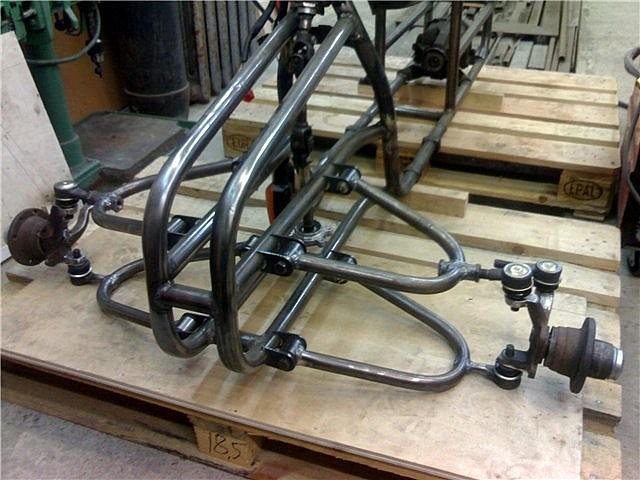 самодельный квадроцикл из оки 4х4 #7