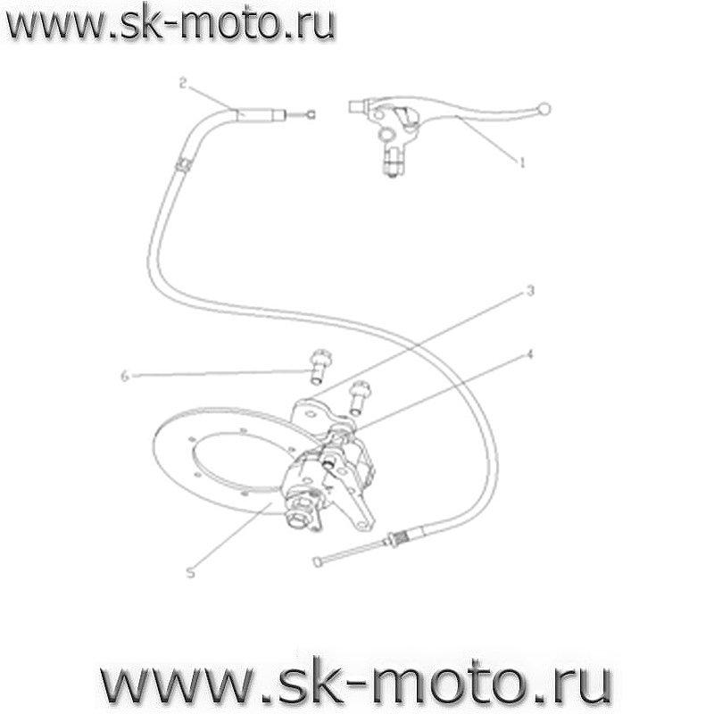 Схемы узлов и агрегатов LH700.