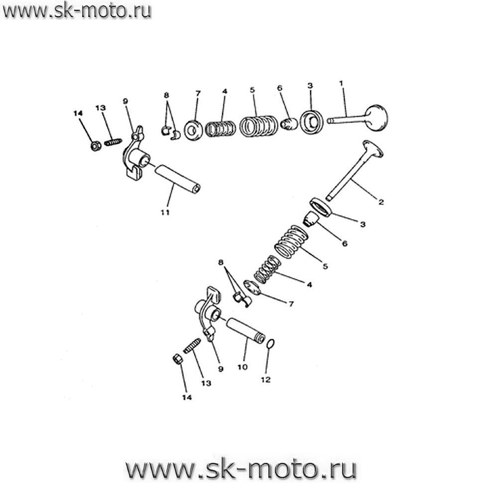 Схемы узлов и агрегатов LH400ATV-2D.